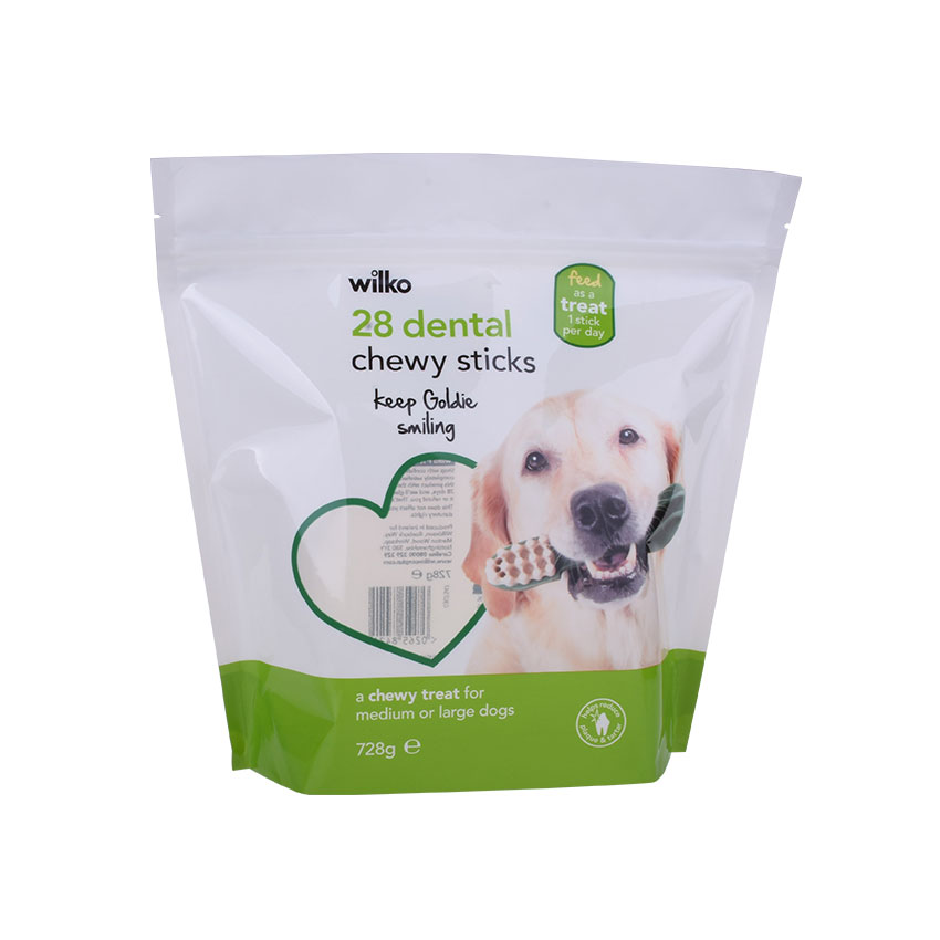 organic pet food pouch