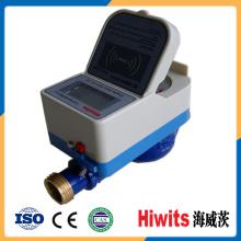 Smart inteligente prepaid inteligente cartão IC Remote Reading Mini medidor de água