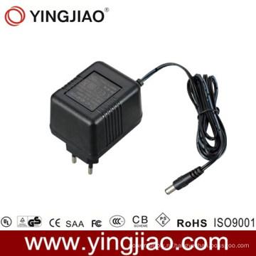 7W AC Plug линейный адаптер питания с CE