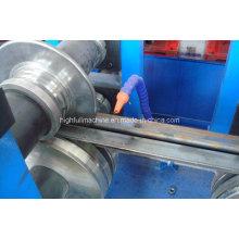 Rodillo de acero galvanizado que forma la máquina