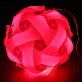 New Design PVC IQ Lamp Shade Puzzle Lamp Infinity Lights