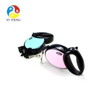 Trela de cão de passeio retráctil força flexiable neon Trela de cão de passeio retráctil força flexiable