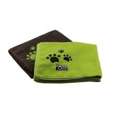 Serviette de bain sèche en microfibre pour chien