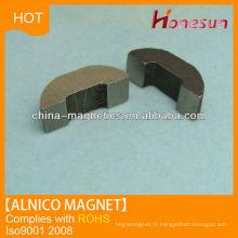 bague aimant Alnico 8 pour pièces magnétiques de moteur