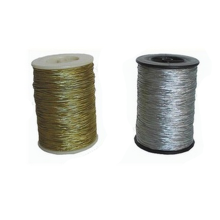 Cheap promotion silver metallic string for package