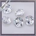 Brillante muy brillante corte hermoso Cubic Zirconia CZ piedras preciosas sueltas para la joyería