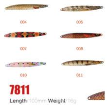 В наличии на складе, 100 мм, 16 г Рыбалка ложка приманки