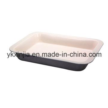 Кухонная утварь Керамическое покрытие Форма для выпечки Прямоугольная плита для жаровни