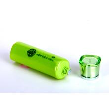 Limpador de clareamento perolizado embalagens de tubo de plástico com tampa Pearlized