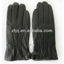 Hombres negro invierno guantes para proteger las manos
