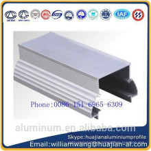 made in China wood grain painting windows aluminium profile