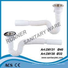 Flexible Drain Pipe with Waste (D8130 / D8131)