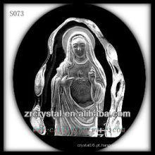 K9 Crystal Intaglio do molde S073
