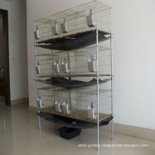 Female rabbit welded wire cages sale(factory)3 or 4 layers