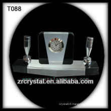Wonderful K9 Crystal Clock T088