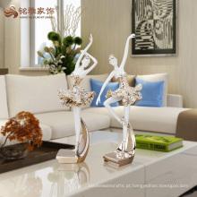 Novos produtos esculturas femininas de resina de corpo para decoração de sala