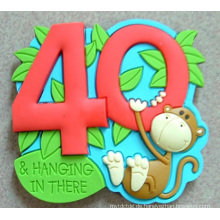 2D / 3D Soft Kühlschrankmagnet Gummi (Werbegeschenk, Geschenke)