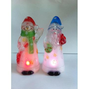 LED Christmas Lighting Santa and Snowman Lights