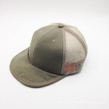 Algodón liso al por mayor sombrero de camionero (JB15S018-1)
