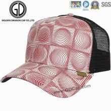 Figura geométrica de la manera Gorra del camionero / casquillo / sombrero de la malla