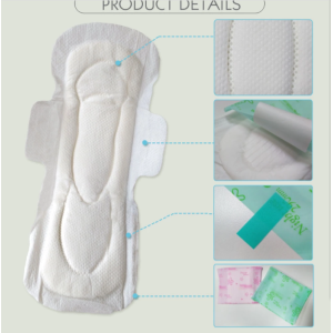 Organic cotton lady sanitary pad