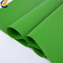 Tecido de estofamento marinho de vinil verde