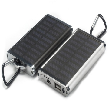 4000mah portable solar power bank for cellphones