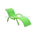 Wicker Rattan Swimming Pool Lounge Chair / Beach Sun Lounger