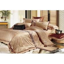 Luxury Jacquard Bedding Set Queen e tamanho King da Fábrica da China