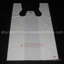 Plastic White Vest Shopping Bag