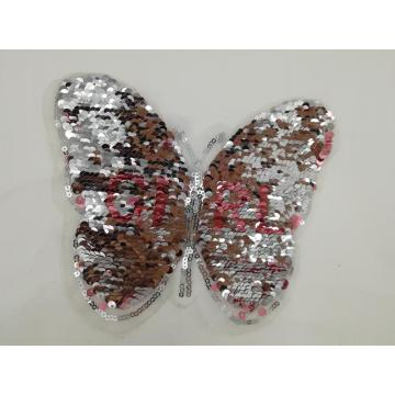 Colorful butterfly reversible patches