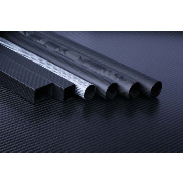Custom Carbon Twill Carbon Fibre Tube