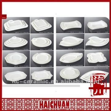 Ceramic irregular plate, irregular shaped dish and plate