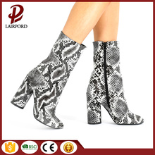 leopard print fashion women short boots