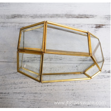 Vases en verre Clear Terrarium Glass Geometric