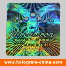 Prägender Hologramm-Laser-Sicherheits-Aufkleber