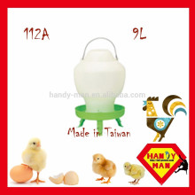 Ball Type Drinker 9L Wih 3 Jambes Durable Poulet Volaille