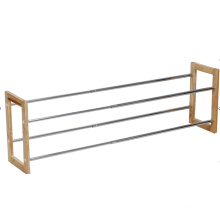 high quality wooden shoes rack, metal shoe rack for living room