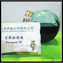 Fornecimento direto de fábrica Paraquat 45% TK, Paraquat 42% TK, Paraquat 20% SL