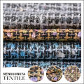 China factory Different kinds of fashion chenille woven fabric textile