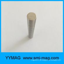 D12x3mm Axial-Magnetisierung Neodym-Rund-Magnet
