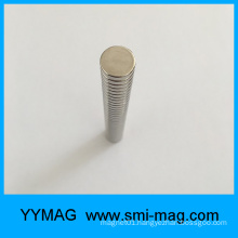 D12x3mm Axial Magnetization Neodymium round Magnet