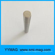 D12x3mm Axial Magnetization Neodymium round Magnet