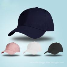 OEM Custom Design Logo 6 Panel Blank Hats Sports Casual Cotton Twill Golf Baseball Cap in china wholesale