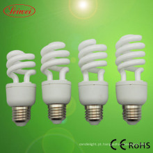 T3 9-15W espiral metade CFL Lâmpada luz