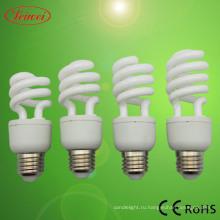 Лампа КЛЛ T3 9-15W половину спираль