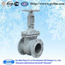 wedge gate valve 4inch pipe steels flange motorized gate valve Manufacturer