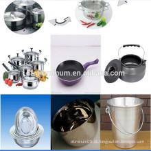 Círculo de alumínio a quente para indústria de culinária