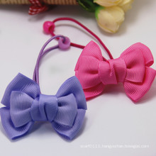 Kids Cute Handmade Ribbon Bowknot Elastic Rubber Hairbands (JE1561)