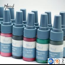 Mastor cejas Permanent Maquillaje Pigmento Tatuaje Tinta